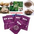 5 peças/lote ze fu rui beautiful life Limpo ponto tampão tampões herbal produtos cotonete higiene feminina produto chinês mulheres