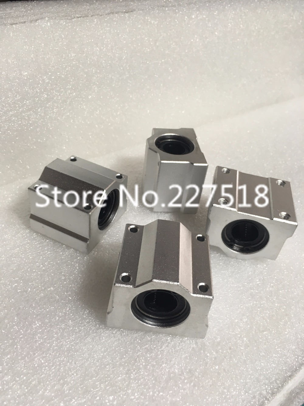 1pc SCS50UU 50mm linear guide Linear axis ball bearing block with LM50UU bush, pillow block linear unit for CNC part scs50uu linear ball bearing xyz table cnc router motion xyz slide block unit for 50mm linear shaft