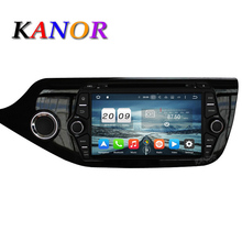 KANOR Android 6.0 Octa core 2G GPS Del Coche Multimedia Player Para KIA Ceed 2013 2014 2015 Audio SatNavi Radio Headunit Bluetooth WIFI