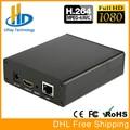 DHL envío gratis H264/H.264 HD HDMI Video Streaming Encocder HDMI IP transmisor H264 RTMP para IPTV EN DIRECTO transmisión Wowza