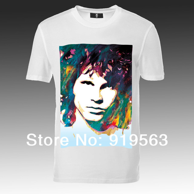896ad58e0a6 Psychedelic rock the doors Jim Morrison people are strange man t shirt new  designs