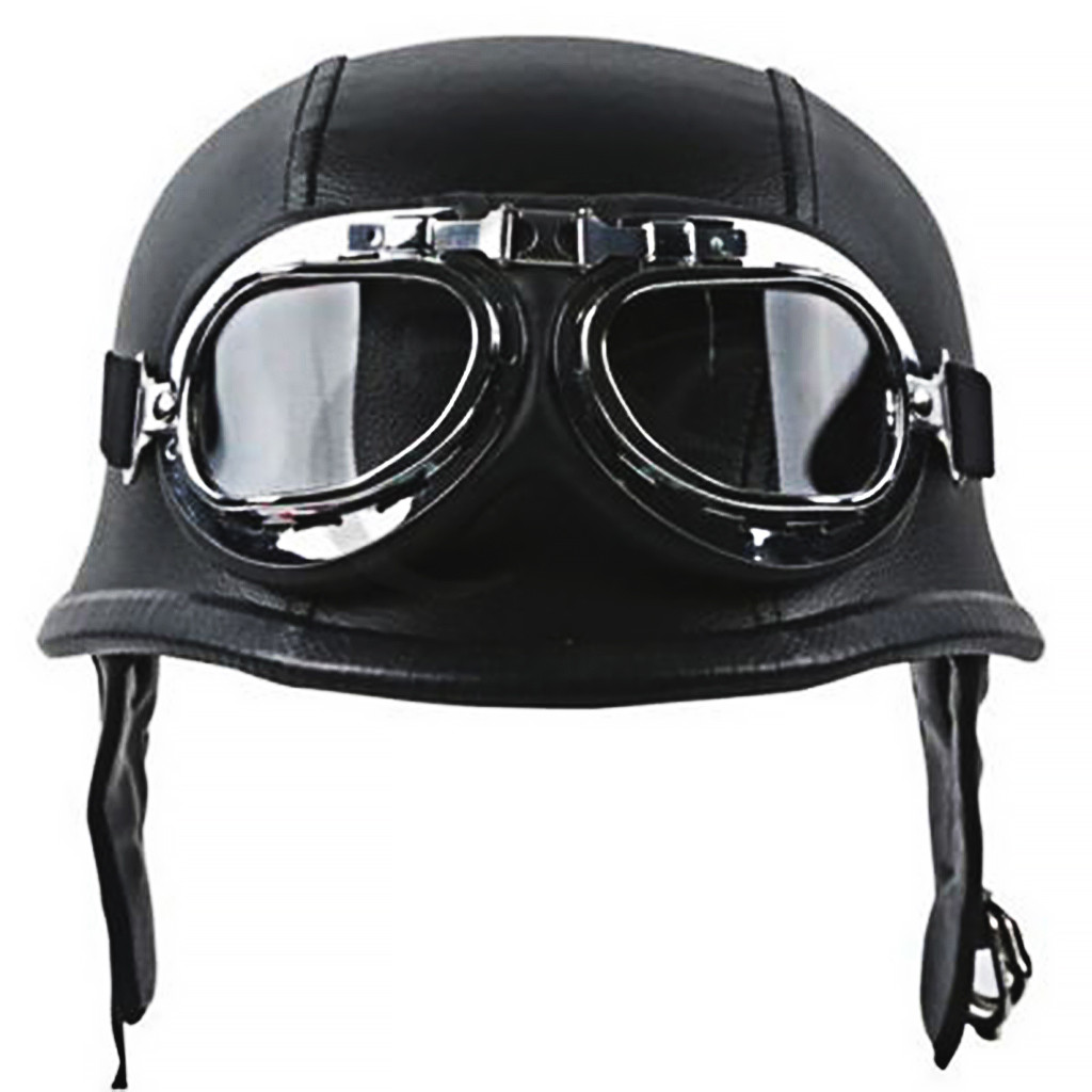 ABS Semi covered DOT Retro Motorcycle Safety Helmet Personalized Mens Womens Four Seasons Half Covered