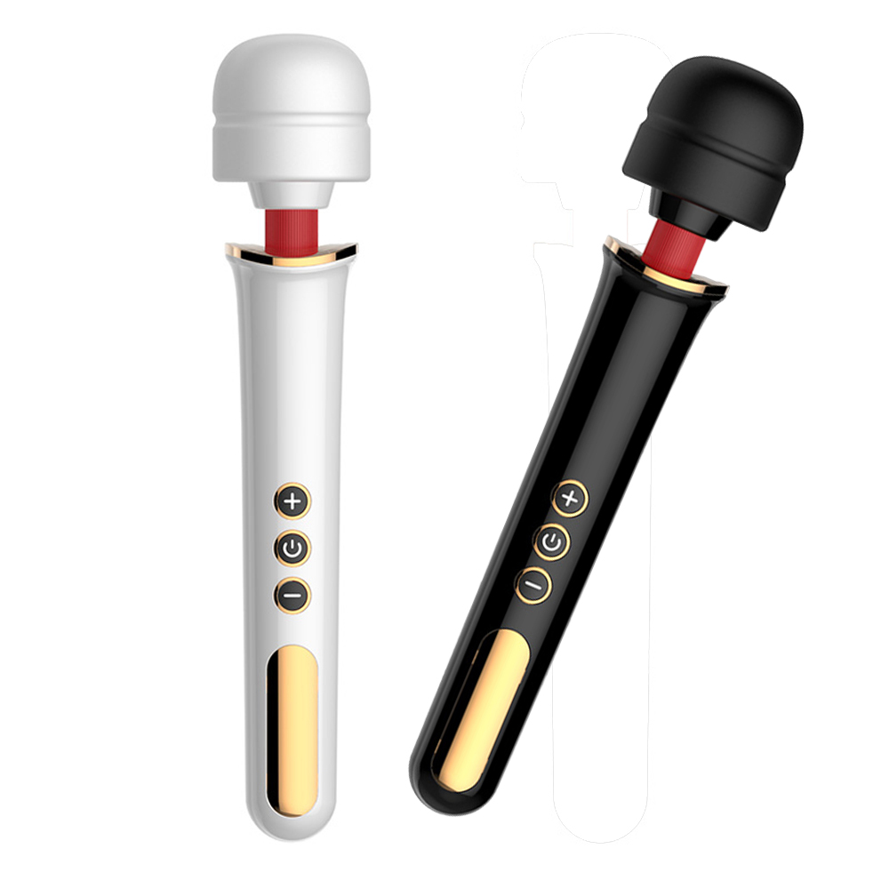 Buy New Super Powerful 5 Speed 10 frequency vibration G-Spot AV Wand Sex Toys,Magic Wand Massager Vibrators Sex Products Woman