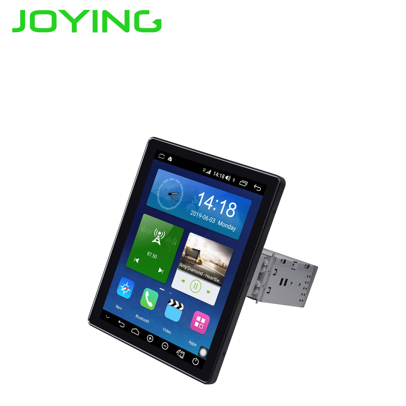 Image 3 - JOYING 9.7 inch IPS Screen 1024*768 one din Android 8.1 Car radio 4GB+64GB support 3G/4G DSP SWC Fast Boot GPS autoradio GPS mapCar Multimedia Player   -