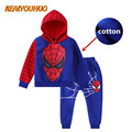 New Kids Clothes Boys 2017 Baby Boys Spring Hoodied +Pants 2 pcs Set Fashion Children Clothing toddler Sports Suit For Boy