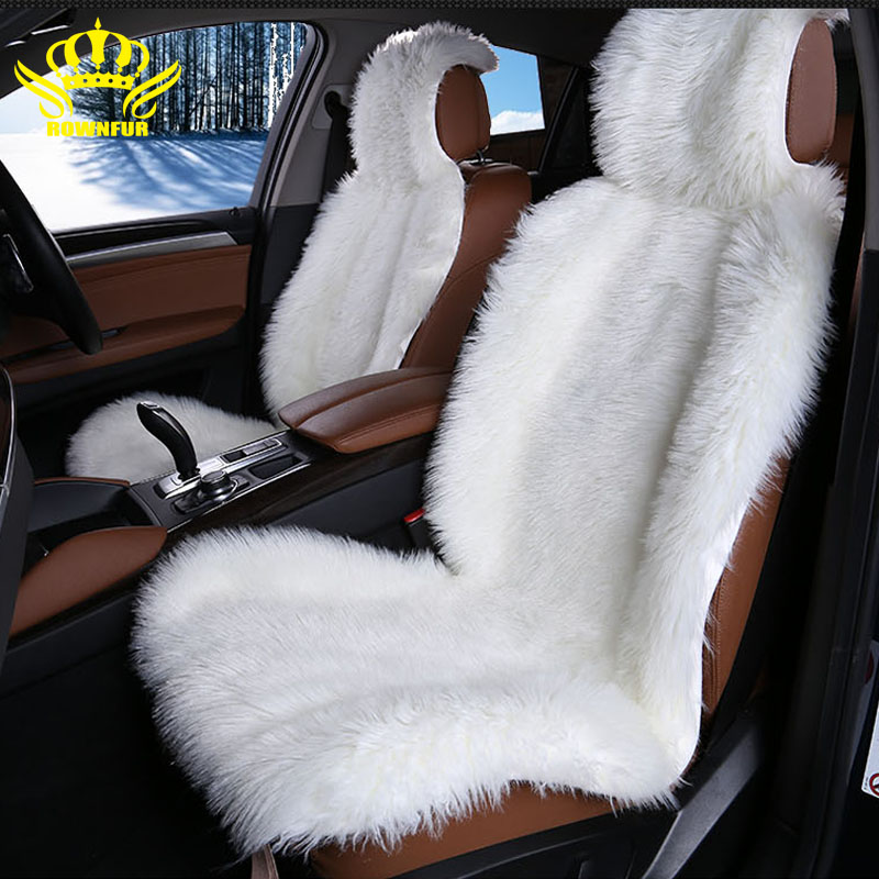 High Quality Faux Fur Front Car Seat Covers For Car Seats