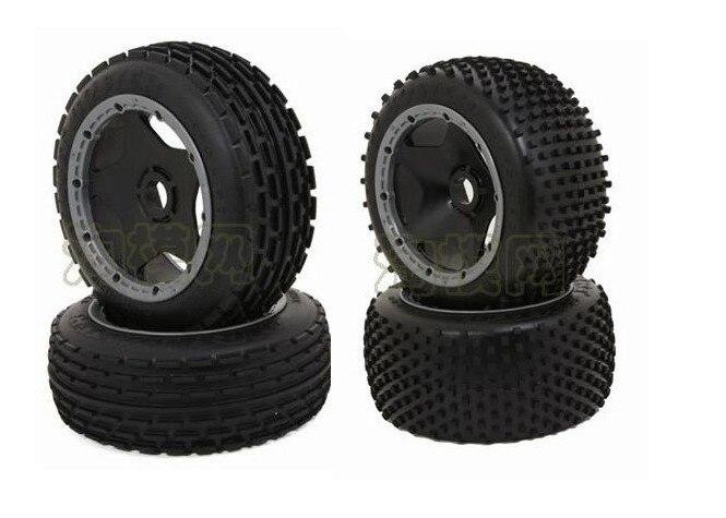 Baja 5b off road wielen set (2 front. 2 achter) voor HPI rovan KM-in Onderdelen & accessoires van Speelgoed & Hobbies op  Groep 1