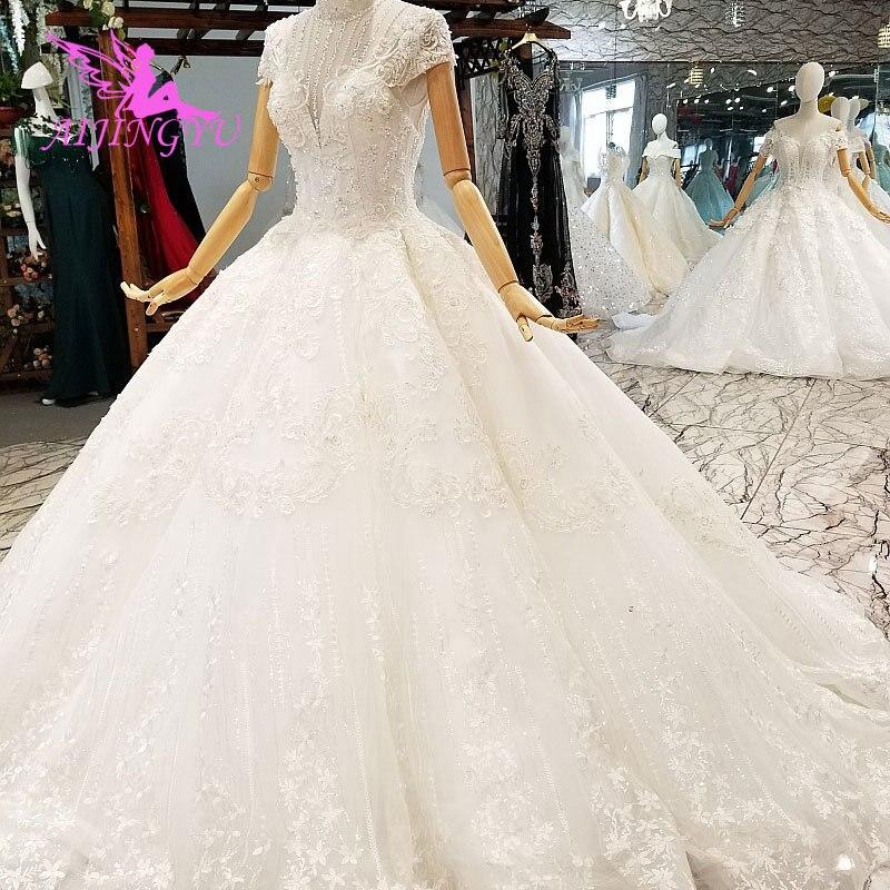 AIJINGYU jolies robes de mariée robe de mariage robe de mariage Unique nouvelle femme 2019 robe avec robes de mariage 2018
