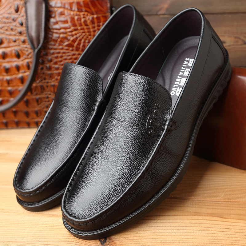 Sociale Mode Black Marque Hommes En Chaussures Mx8118266 Cuir Luxe Véritable Designer De ZOnvq