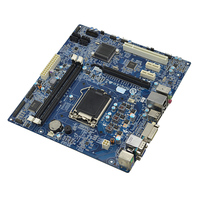 Advantech Micro ATX материнской платы H81 Чипсет в 4th genetation Процессор Core i7/i5/i3 VGA + DVI D два независимых Дисплей 3 xpcie 1xpci