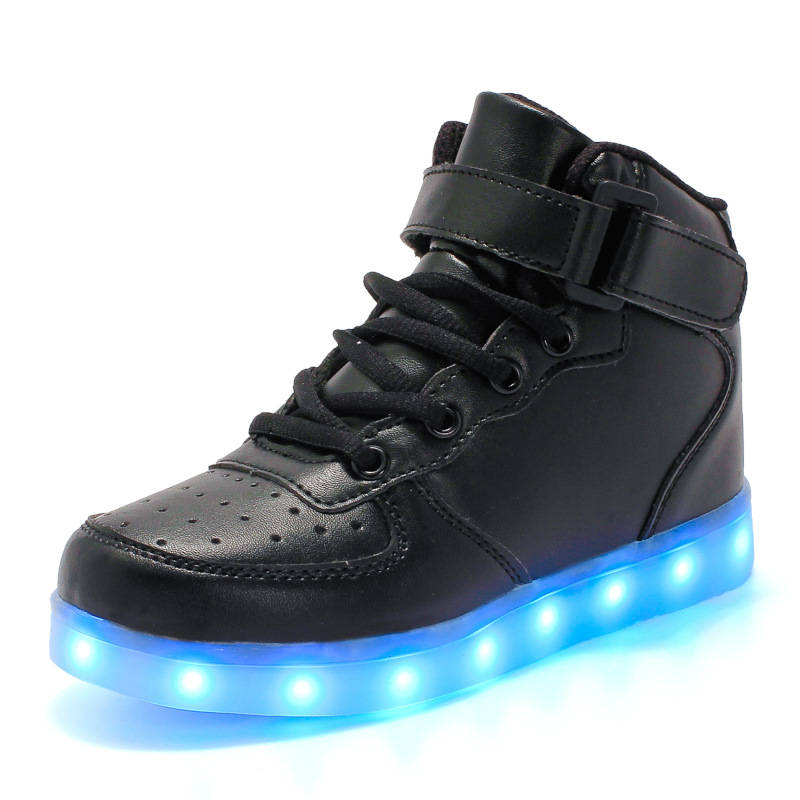 Classical Led Shoes for kids and adults USB chargering Light Up Sneakers for boys girls Shoes Glowing Fashion Party Shoes
