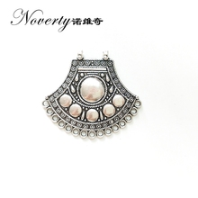 2017 New 2pieces 46MM Retro Silver Zinc Alloy Axe Shapes Connectors Charms Pendants for DIY Necklace Jewelry Accessories