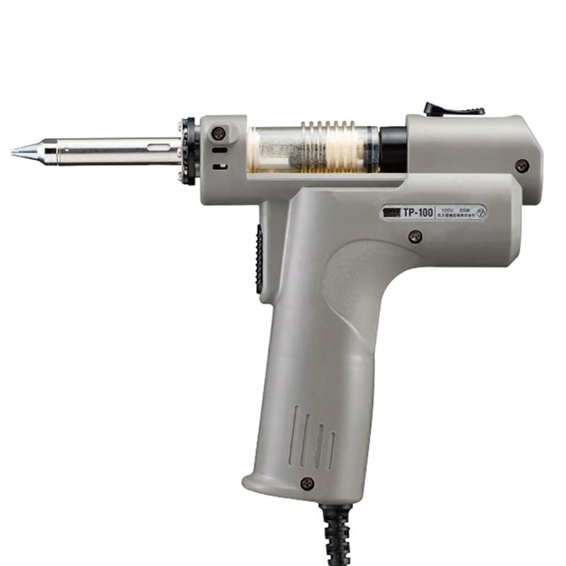 110/220V 50/60Hz Electric Vacuum Desoldering Pump Solder Sucker Gun Automatic Suction Device Desoldering Gun Electric Absorb Gun