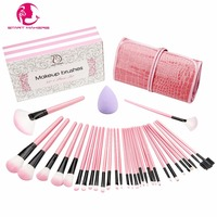START MAKERS 32pcs Professional Beauty Makeup Brush Cosmetics Foundation Blush Makeup Brush Kit Women Make Up