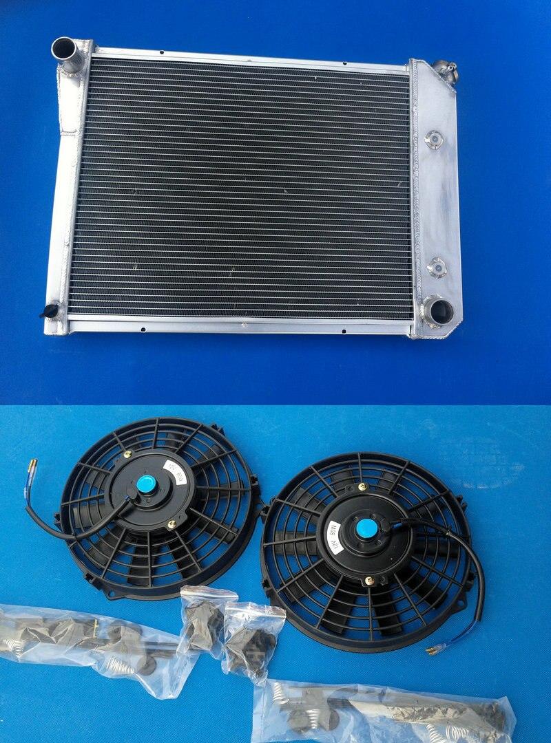 3 ROW Radiator+Shroud+Fan For Chevy Nova 1968 1969 1970 1971 1972 1973 1974 AUTO
