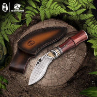 HX OUTDOORS classical knives carambit knife seal good hardness diving Damascus knives curve knifeknife fac