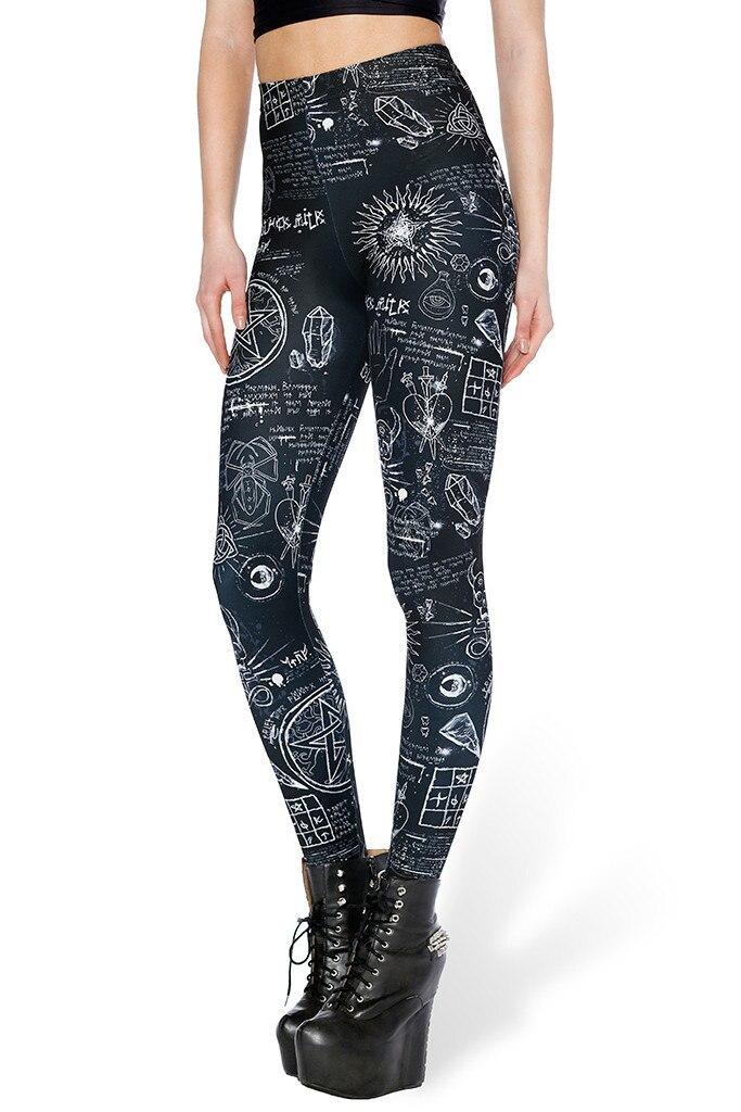 Lgs-3658 women girls legings Graphic digital printing leggings casual ladies pants wholesale