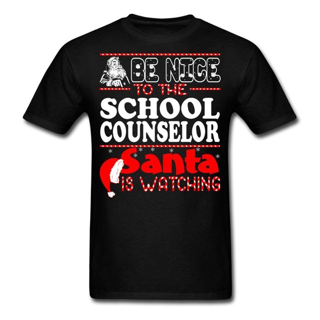 c9cb974c2a Funny School Counselor Quote Christmas Men's T Shirt-in T-Shirts ...