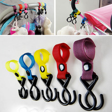 High Quality Baby Stroller Hook Pram Pushchair Hanger Hanging Hooks Random Color Comfort Stroller Accessories F20