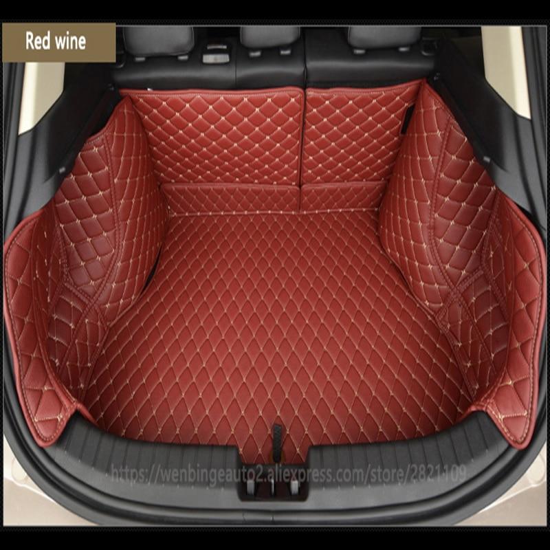 Custom car trunk mat Carga Liner para Hyundai Todos Os Modelos ix25 solaris tucson sonata 2016 i30 getz personalizado forro de carga
