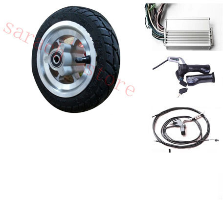 8 350W 48V brushless non-gear hub motor wheel , motor wheel electric scooter,electric skateboard motor wheel 2017 new 4 wheels electric skateboard scooter 600w with bluetooth remote controller replaceable dual hub motor 30km h for adults