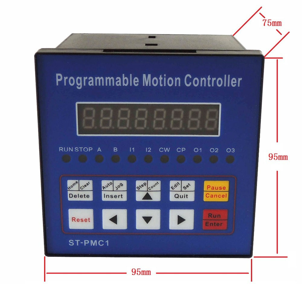 Free shipping CNC Stepper motor controller Motion Controller Single axis controller programmable ST-PMC1