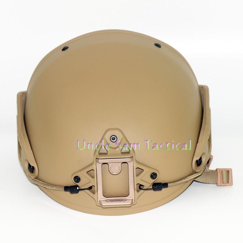 Casco táctico AF precisión ejército combate entrenamiento casco de paintball airsoft versión mejorada - 2