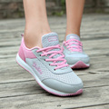 2016 New Spring Summer Shoes Women Breathable Mesh Zapatillas Shoes For Women Mesh Soft Casual Shoes Fashion Flats B341
