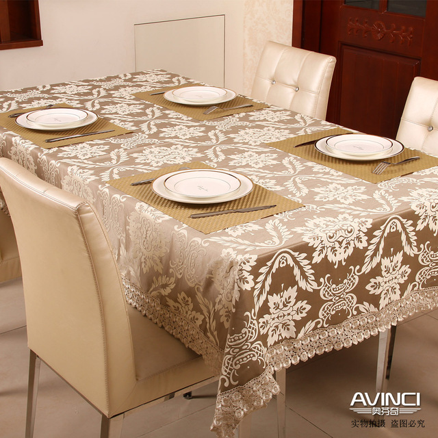 Free Shipping Fashion Elegant Fabric Of Luxury Dining