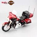 Nuevo 1:12 Maisto niños Harley 2013 FLUTK ELECTRA GLIDE ULTRA LIMITADA Diecast modelo de motocicleta de metal coche juguetes de colección