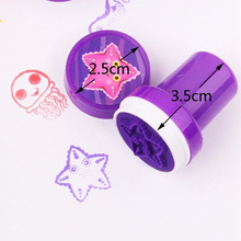 Vvsoo 10PCS Self-ink Stamps Kids Party Favors Event Supplies Birthday Gift Toys Boy Girl Goody Bag Pinata Fillers Christmas Gift