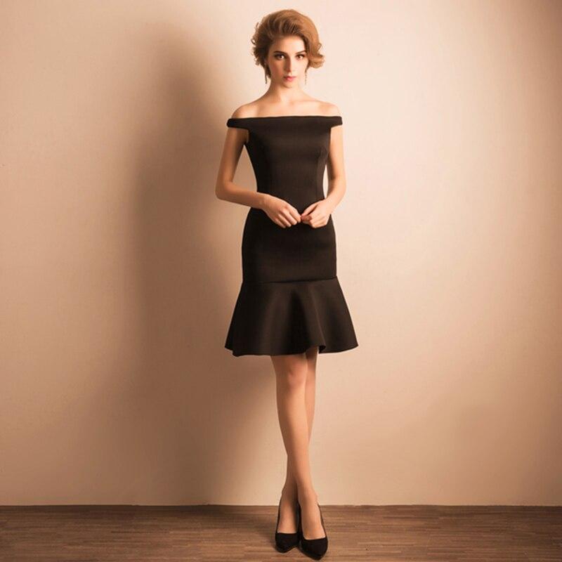 Черные короткие платья магазин