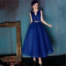 Royal Blue 2016 Elegante Cocktailkleider Schärpen Vestidos De Coctel Abendgesellschaft Kurze Kleider Für Abschluss Bonbon 16 Jahre