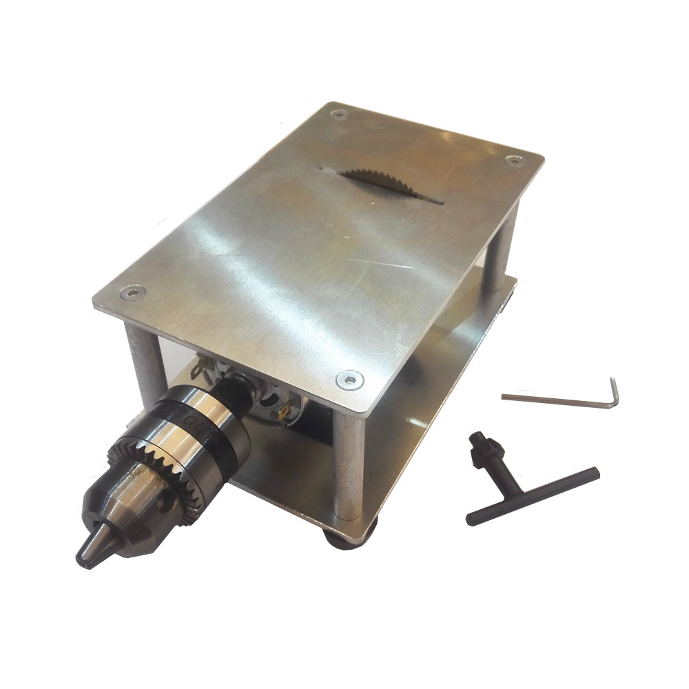 High power multifunction table saw electric drill bench drill portable 100W PCB drilling cutting tool free shipping electric power drill press stand table for drill workbench repair tool clamp for drilling collet table 35