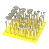 50Pcs Diamond Coated Grinding Grinder Head Glass Burr For DREMEL Rotary Tools On Sale Y122