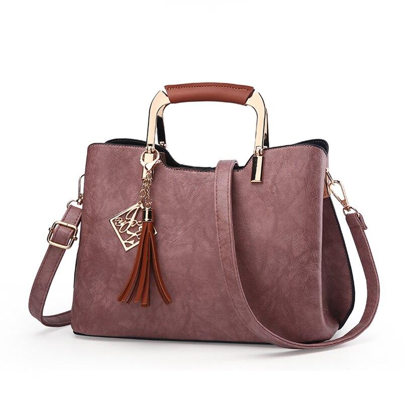 Nevenka Brand Design Women Luxury Handbags Female Tassel Sequined Messenger Bag Quality Leather Tote Solid Zipper Evening Bags09