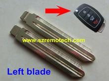 10 шт./лот Бесплатная Доставка Новый Uncut Дистанционного Флип Ключ Замена HYN14 Лезвие Пустой Switchblade, Пригодный Для Hyundai
