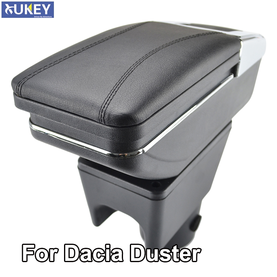 Armrest For Renault Dacia Duster I 2010 2015 Arm Rest Rotatable Storage Box Decoration Car Styling 2011 2012-in Armrests from Automobiles & Motorcycles