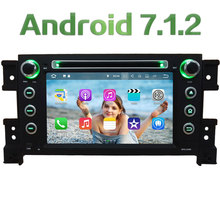 Android 7.1.2 2GB RAM 4G DAB Car DVD Player Radio For Suzuki Grand Vitara 2005 2006 2007 2008 2009 2010 2011 2012 2013 2014 2015