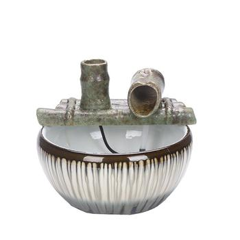 Feng Shui Water Fountain Figurine Indoor Water Fountains Desktop Ceramics Fountain Interieur Office Home Decoration Accessories