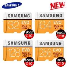 SAMSUNG 100Mb/s Micro SD Card 128GB 32GB 64GB 256G Memory Card Class10 U3 U1 Flash TF Microsd Card for Phone with Mini SDHC SDXC