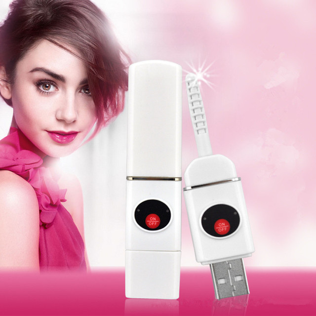 Мини-Электрический Ресниц Керлинг USB Аккумуляторная Электрическим Подогревом Ресниц Керлинг Ресниц Формировании Beauty Макияж Инструменты