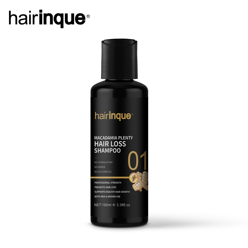 11.11Hairinque New arrivals 100ml Macadamia Plenty Hair loss Shampoo For Hair Regrowth Advanced Treatment for thinning hair care image