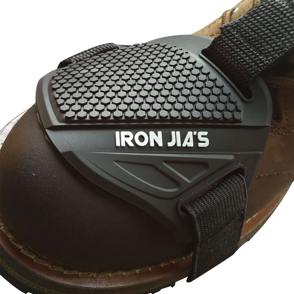 Motorcycle Shoes Protective Motorcycle Gear Shifter Shoe Boots Protector Motorbike Boot Cover Protective Gear Shift Pad