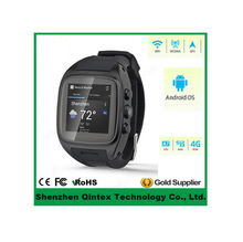 New android 4.4 bluetooth smart watch SIM+GSM+GPS+WiFi Smart Watch Waterproof Android Smart Watch