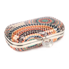 купить NEW !! Ladies' Clutch Knuckle Rings Evening Bag , Party Bag With Chains, Fashion wallet Day clutch , free shipping B021 по цене 935.78 рублей