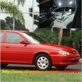 Free Shipping 6pcs/lot White Interior LED Lights For Kia Sephia 1998-2001