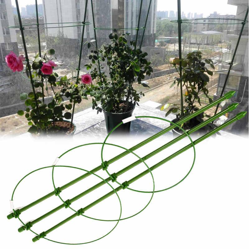 45cm plantes Support Pot aubergines vigne escalade Rack plante Support cadre jardin plantes grimpantes conique treillis livraison directe