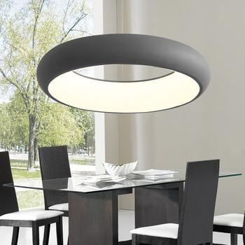 Moderna Para Lámpara Comedor Nueva Redonda Sala Estar Suspensión Led Aluminio Luminaria Colgante Lustre De dEQrCBeWox