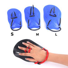 Newly Professional Swimming Paddles Training Silicone Hand Gloves Padel Fins Flippers For Adults Kids Swim Gear FMS19